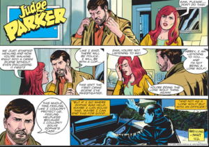 Judge Parker Comic Strip