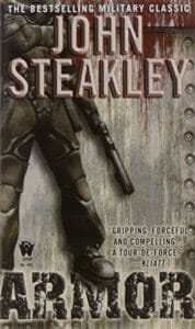 Armor war novel by John Steakley