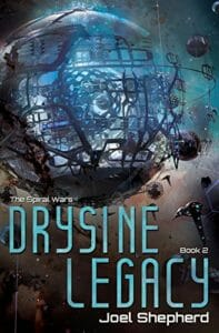 Novel Cover For Drysine Legacy
