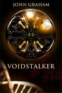 Cover, Voidstalker, a tale of genetic engineering