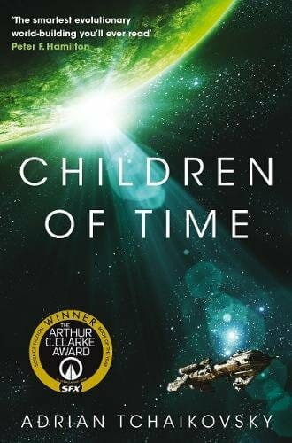 Children of Time – Two Civilizations Collide by Adrian Tchaikovsky