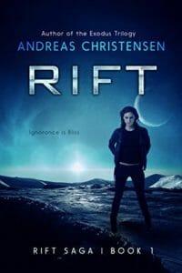 Cover, Rift Saga Book 1