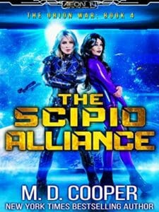 Scipio Alliance Cover From Orion War Book 4