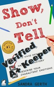 Verified Keeper - Show Don't Tell How To Write Vivid Descriptions